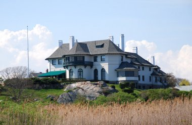 Ocean Avenue mansion-Mansion on the southern end of Newport, Rhode Island, on Ocean Avenue (medium sized photo)